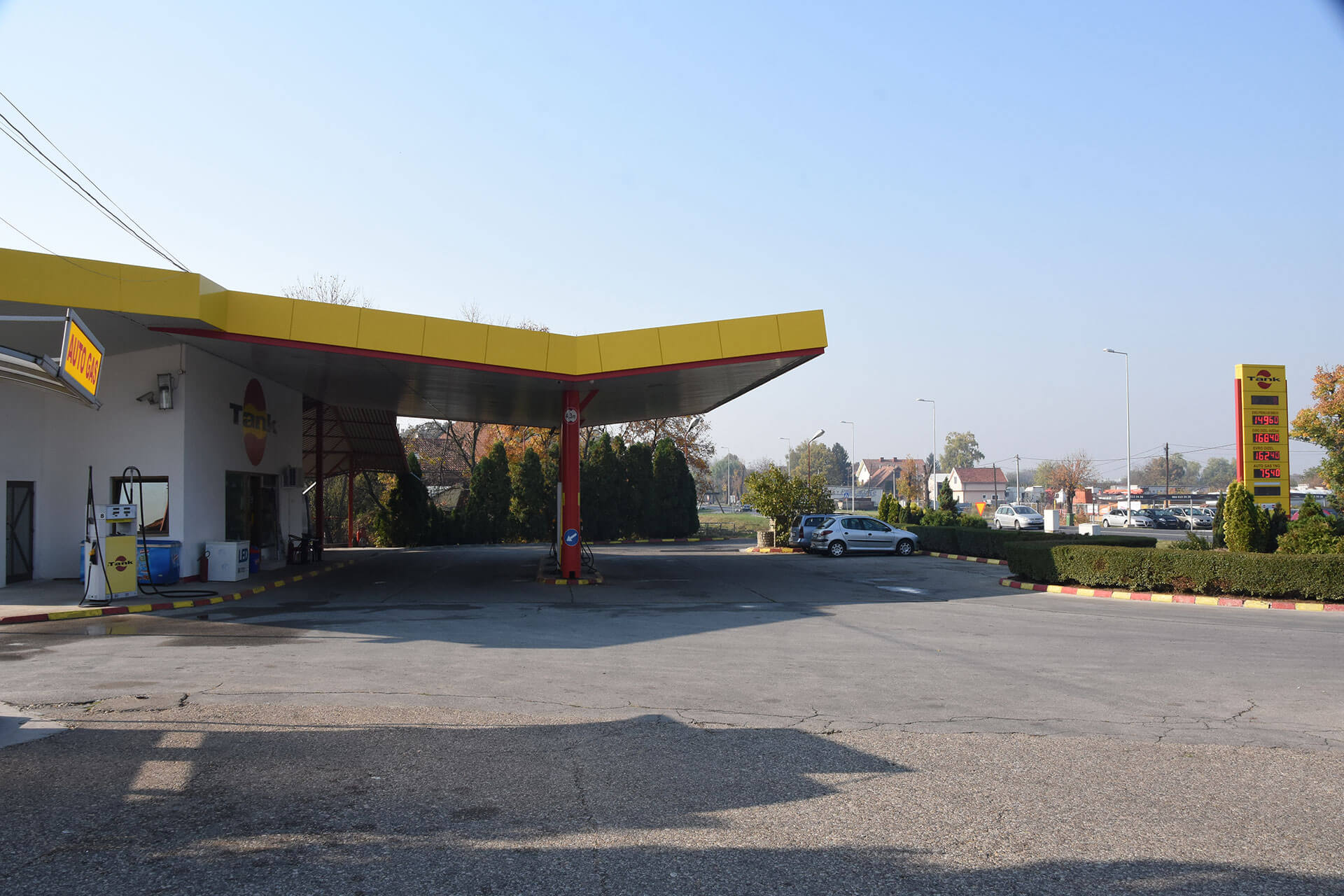 Tank Benzinska Pumpa Pančevo
